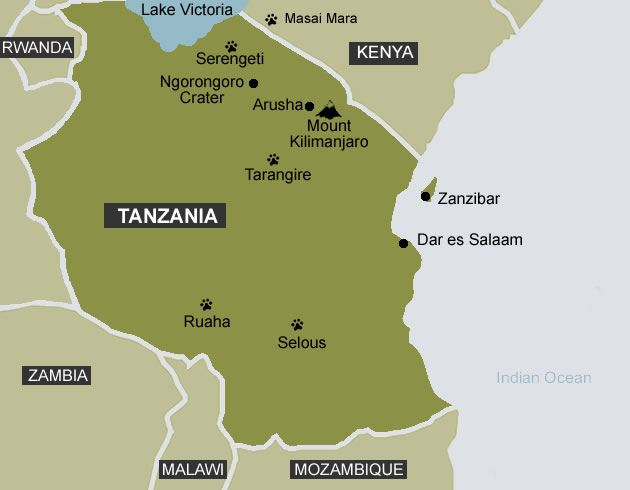 Crossing Tanzania Arusha to Dar Es Salaam As Her World Turns