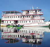 Amazon Riverboat Cruise Brazil Manaus Meeting Waters Holiday Vacation