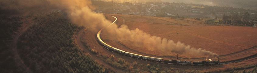 Rovos Rail Blue Train South Africa Cape Town Shongololo Tren Crucero