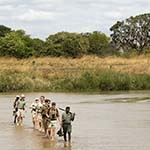 Photo Point to Point Walking Safari Zambia Africa South Luangwa
