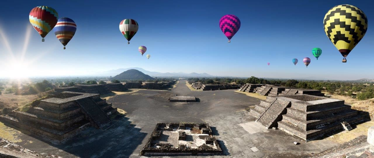 Hot Air Balloon Ride Over Mexico's Pyramids Travel Blog